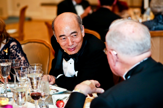 30th Anniversary Gala: The Ambassador of Japan H.E. Kenichiro Sasae. Photo credit Tony Powell