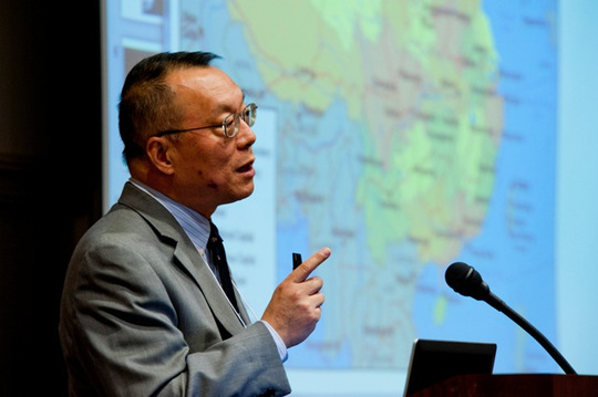 Dr. Xiao-huang Yin, Professor and Chair of the American Studies Department at Occidental College