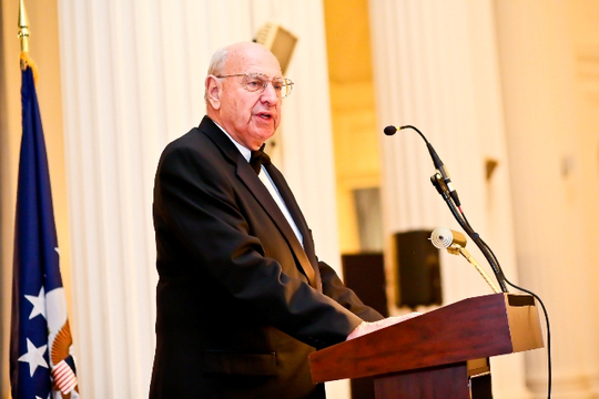 30th Anniversary Gala: Ambassador Thomas R. Pickering Offers the Keynote Address. Photo credit Tony Powell