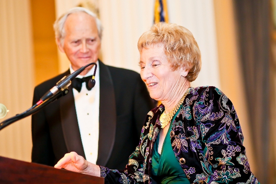 30th Anniversary Gala: Ambassador Bruce S. Gelb and Diana Davis Spencer. Photo credit Tony Powell
