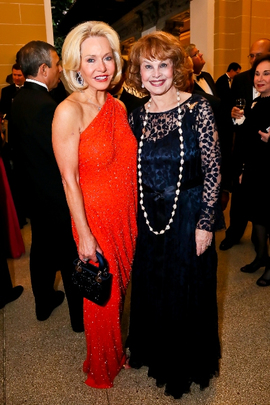 30th Anniversary Gala: Ambasador Mary M. Ourisman and Ann Hand. Photo credit Tony Powell