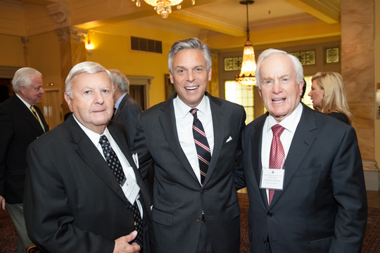 Ambassadors Robinson, Huntsman and Hand