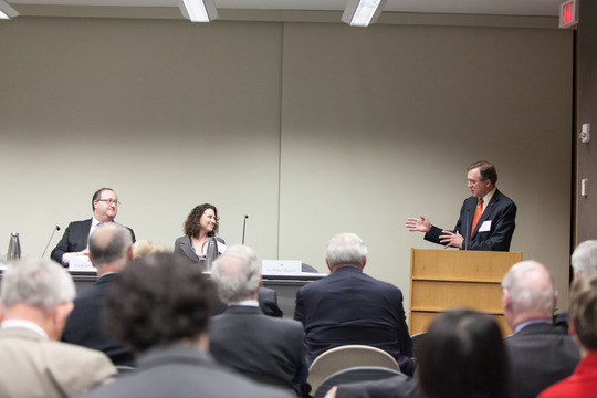 Dr. Fred Kagan, Dr. Kim Kagan, and Ambassador G. Philip Hughes