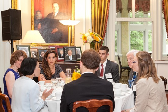2015 International Affairs Welcome Dinner