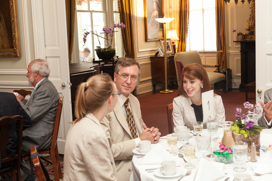2015 CAA International Affairs Fellows Graduation Luncheon