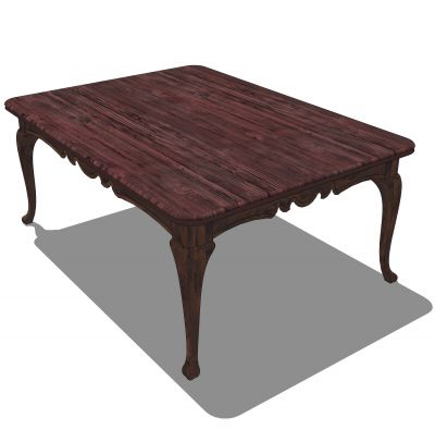 Dining table sketchup images for Table design sketchup