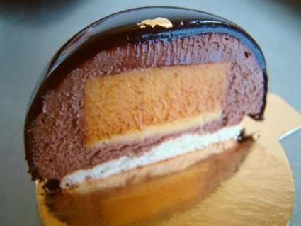 Mango Chocolate Dome