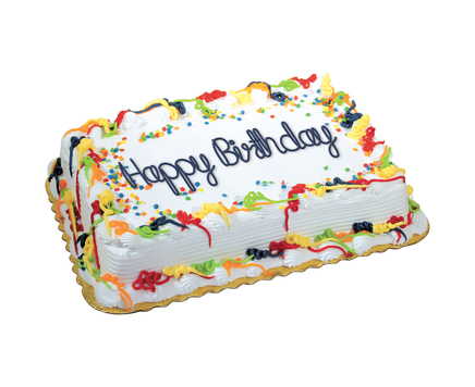 1 4 Sheet Big Y Birthday Cake