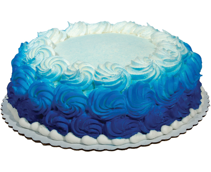 10in Big Y Ombre Cake