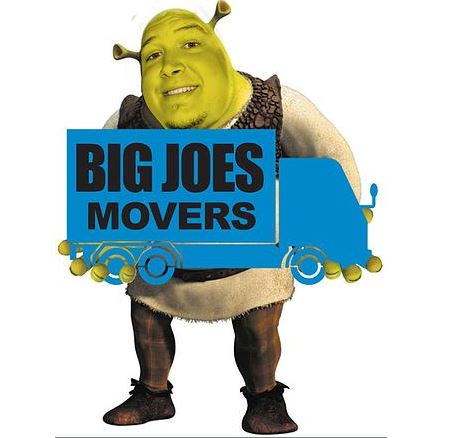Website for Big Joes Movers