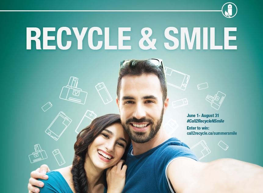 Canadians Smiled All Summer Long for Call2Recycle