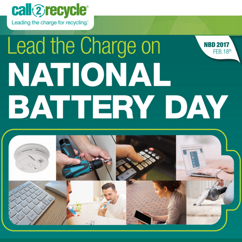 National Battery Day Social Media