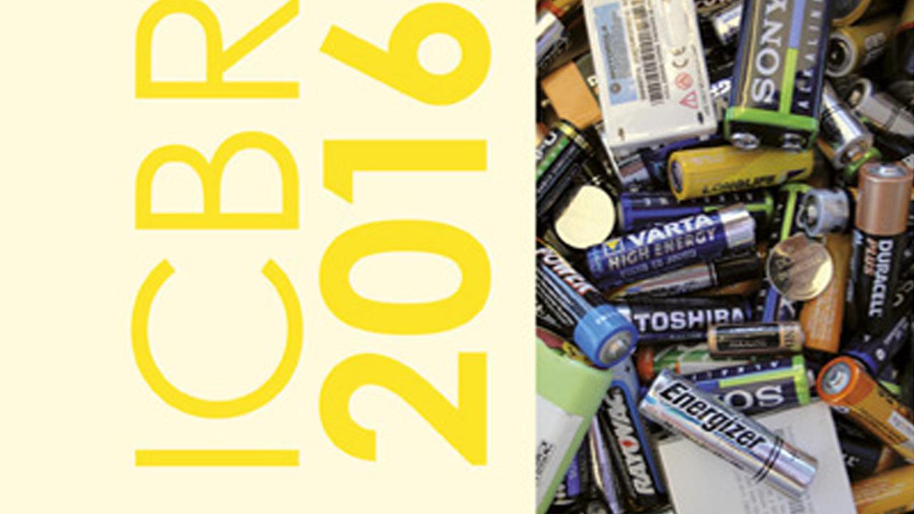 International Battery Recycling Congress ICBR 2016