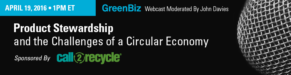 The Circular Economy among the Key Topics at this Year's GreenBiz