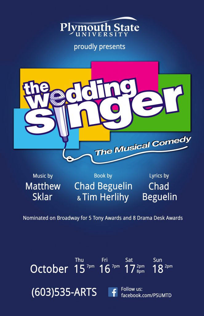 PSU Wedding Singer Poster