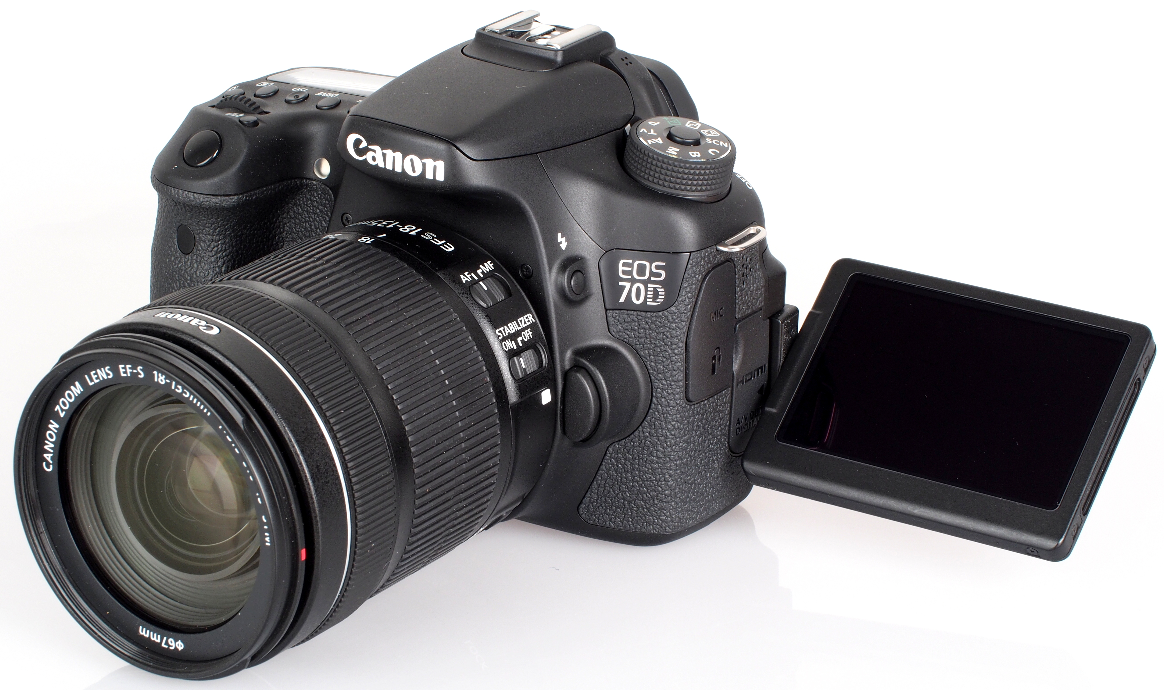Rent joshua c 39 s canon eos 70d dslr camera w 135mm and 40mm for Camara profesional canon