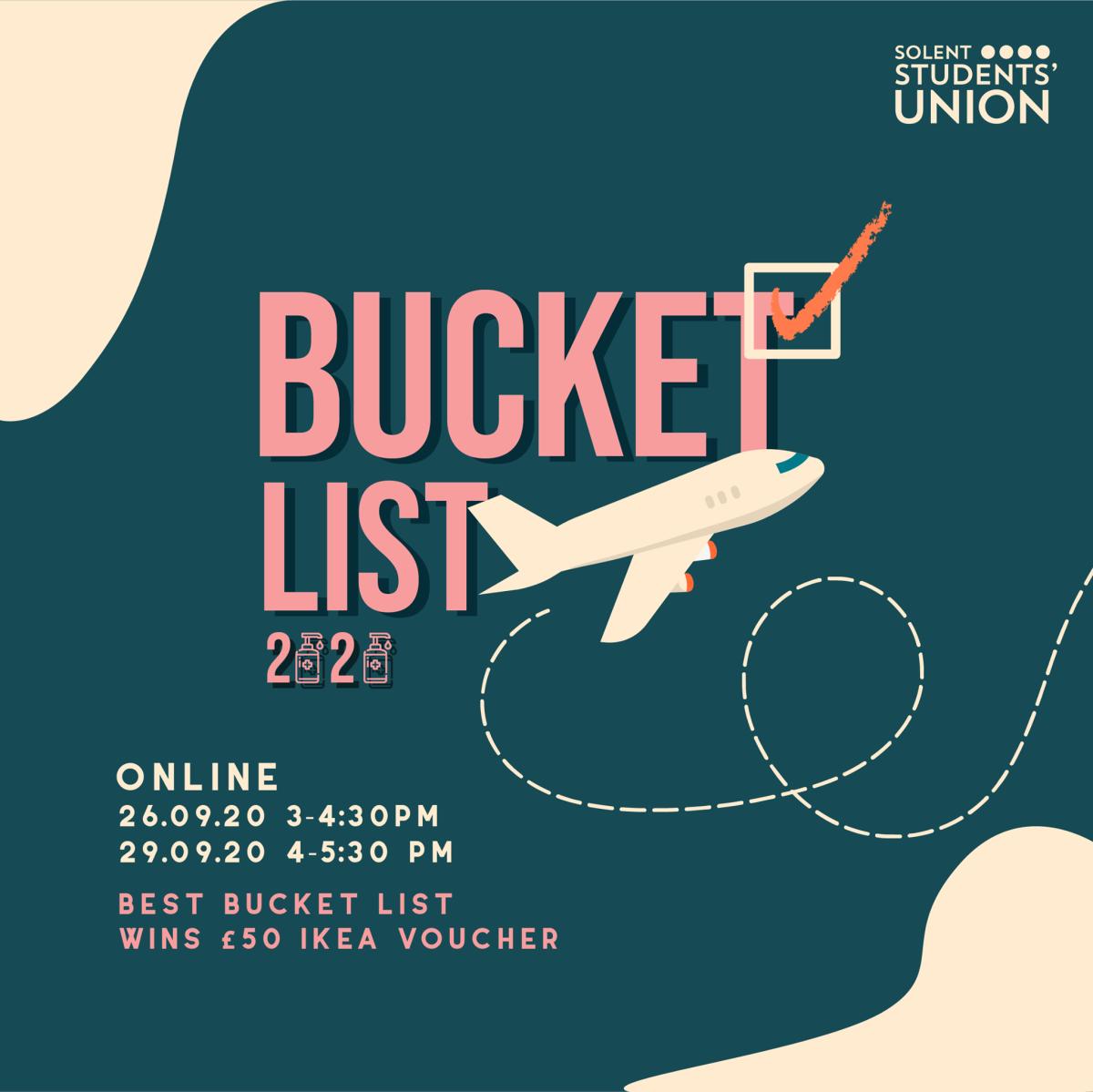 Bucket List Event