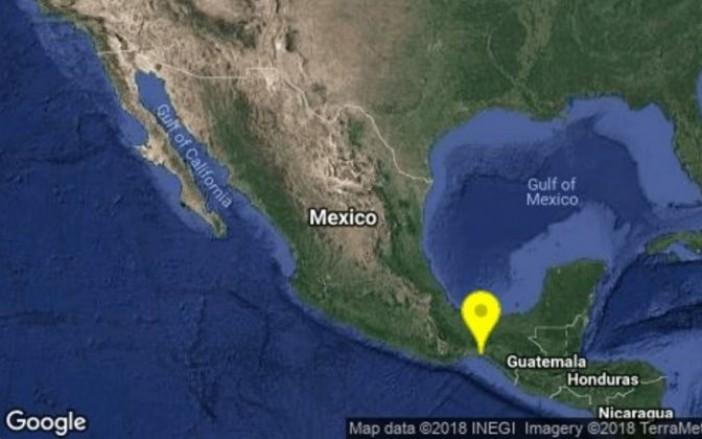 Terremoto de magnitud 5.7 sacudió México esta tarde