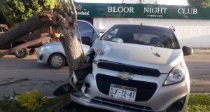 Dos heridos en accidente