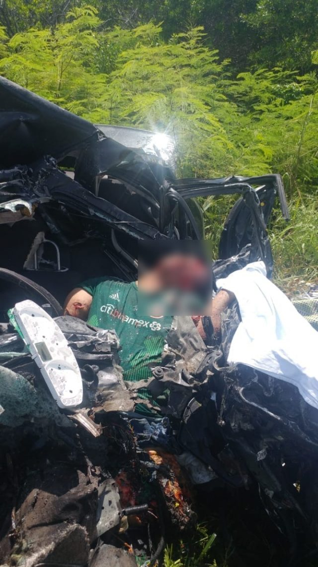 MUERE EN ACCIDENTE CARRETERO