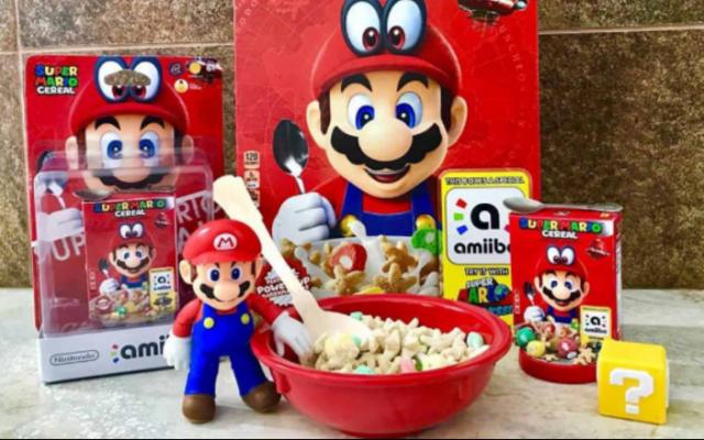 El cereal de Super Mario ¡Ya está en México!