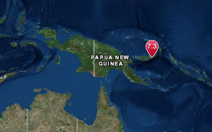 Sismo de 7 grados genera alerta de tsunami en Papúa Nueva Guinea