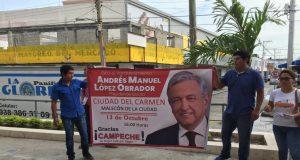 El integrante de MORENA, explicó que el PT no fue convocado para formar parte de la planeación de la visita de López Obrador, porque solo es una visita de agradecimiento dirigida a los ciudadanos.