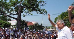 AMLO llega a Campeche