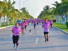 Realizan la Décima Carrera de Convivencia contra el cáncer de mama