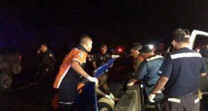 Emboscan a policías, les arrojan granada; hay 6 lesionados