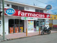 Delincuentes asaltan farmacia