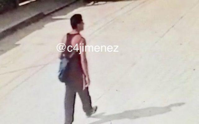 Difunden imagen del presunto asesino de la niña Valeria