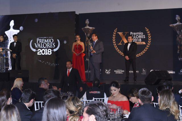 AMC fue distinguido con el Premio Valores 2018