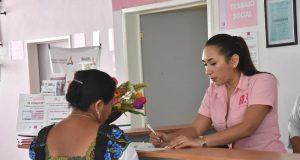 SSA intensifica acciones de prevención contra el cáncer de mama