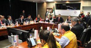Instalan Comité Nacional de Emergencias por 'Willa' y 'Vicente'