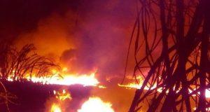 Explosión mata a uno y quema a cuatro, en Veracruz