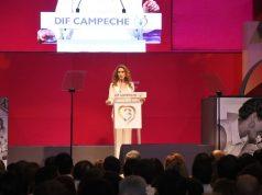 Christelle Castañón rinde tercer informe