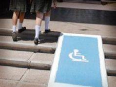 """""""80% de las escuelas con accesos para discapacitados"""""""