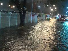 Tormenta inunda zona de Indios Verdes, en CDMX