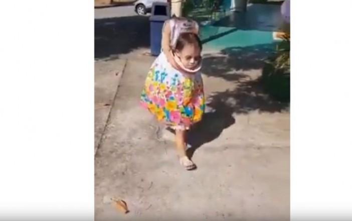 Video Disfraz De Nina Sin Cabeza Causa Furor En Redes Campeche Hoy - Disfraces-sin-cabeza