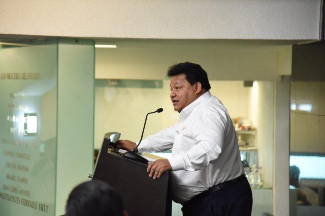 Legislador del PRD invita a colegas a trabajar por los campechanos
