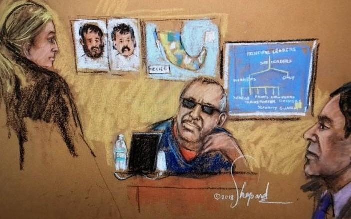 Revelan varios de los testigos cooperantes de juicio del Chapo en EUA