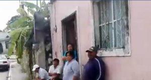 Sin energía eléctrica; Exigen presencia de las autoridades