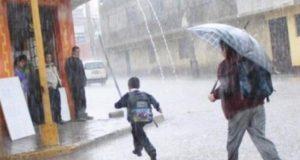Frente frío provocará tormentas fuertes en el sureste del país