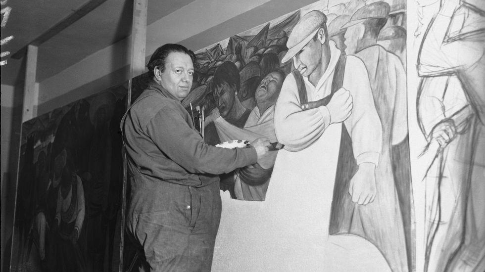 Resultado de imagen para Fotos de Diego Rivera
