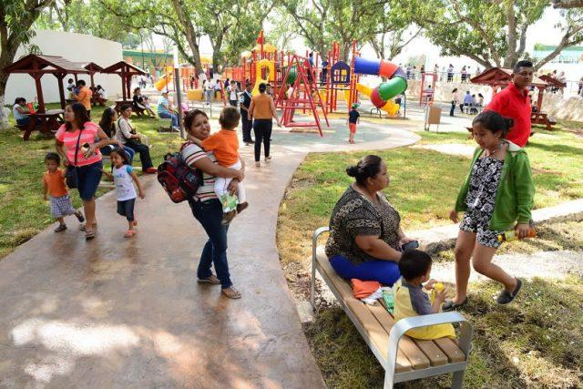 Parque Ximbal supera cifra de visitas del año pasado