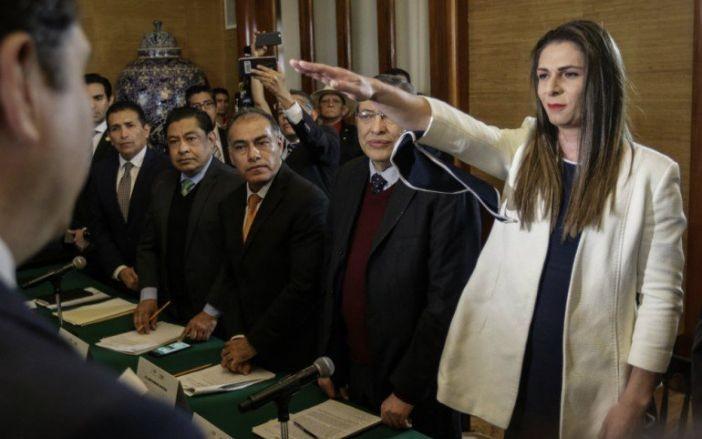 Crítica Ana Gabriela Guevara el GP de México