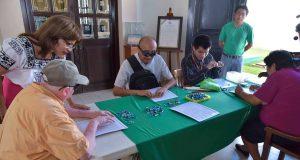Lotería campechana en sistema Braille
