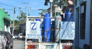 A la baja el precio del gas LP