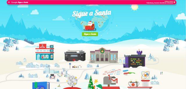 Sigue en vivo la ruta de Santa Claus